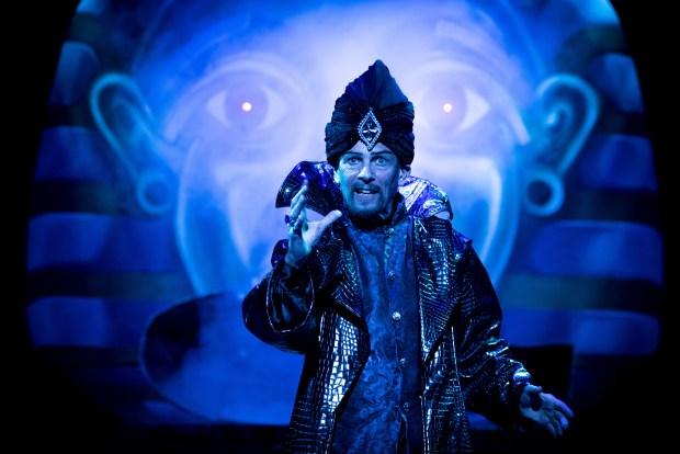 Aladdin - Paul Nicholas - photo by Graeme Braidwood