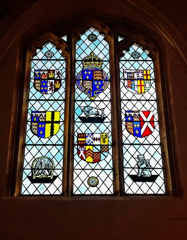 R3 stained glass fotheringhay