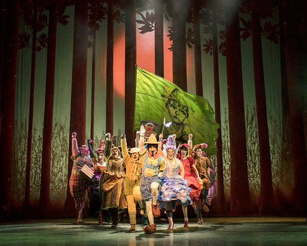 Shrek the Musical. Credit Helen Maybanks