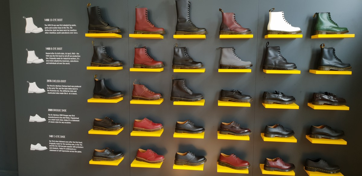 Dr Martens benefits from 'very smart' decision to keep UK factory going