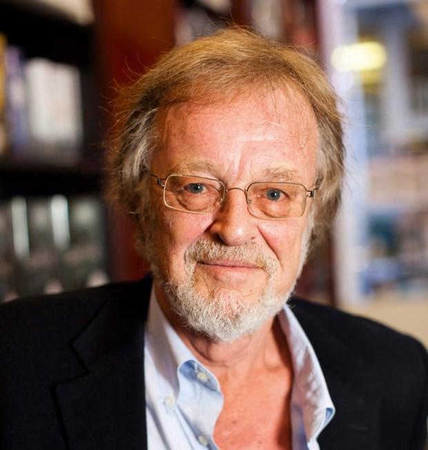 Author Bernard Cornwall.Photograph by Felix Clay.
