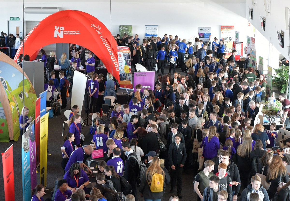 Thousands of pupils get stuck into science at Big Bang Silverstone