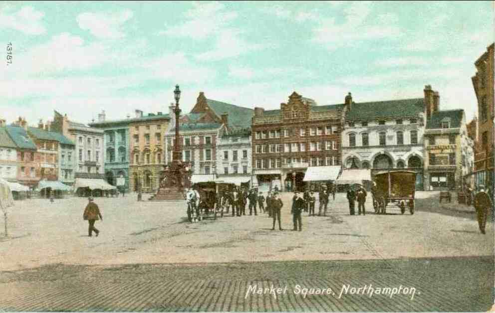 A Walk Through The History Of Northampton Market Square