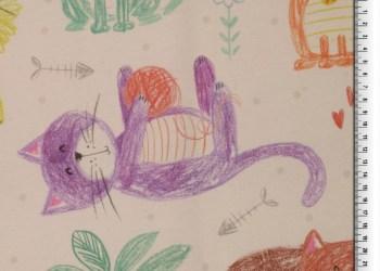 CANVAS | Digitale bedrukking - Katten