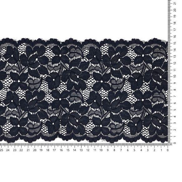 LINGERIE | Nylon stretch kant | 157mm | Blauw - nr.211