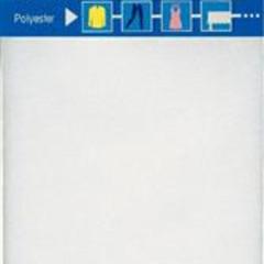 VERSTELSTUK POLY OPSTRIJKB. 12 x 45cm - Wit (1st)