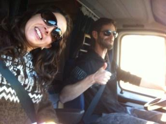 viaje en furgoneta