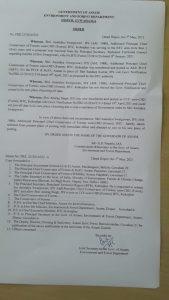 After refusal to obey transfer order, Assam forest department releases Additional PCCF Anindya Swargowari from Kokrajhar 1