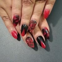 55 Hottest Red Nail Art Ideas - nenuno creative