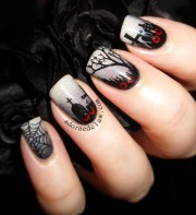 halloween nail art ideas - nenuno