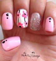 lovely pink nail art ideas