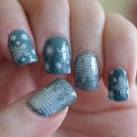35 Snowflake Nail Art Ideas - nenuno creative
