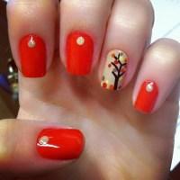 35 Leaf Nail Art Ideas - nenuno creative