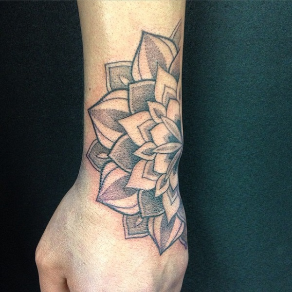 Simple Tattoo Designs On Hand For Men