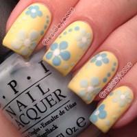 50 Lovely Spring Nail Art Ideas - nenuno creative