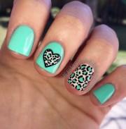 leopard nail art ideas - nenuno