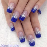 30 DARK BLUE NAIL ART DESIGNS - nenuno creative