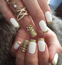45 Gold Nails You Wish to Try - nenuno creative