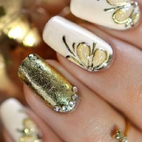 45 Gold Nails You Wish to Try - nenuno creative