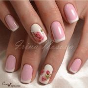 rose nail art design ideas