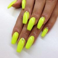 45 Yellow Nail Art Designs - nenuno creative