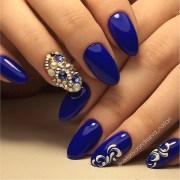 blue nail art ideas - nenuno