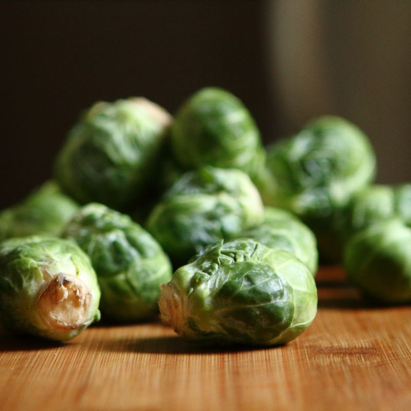 February Harvest: Brussels Sprouts