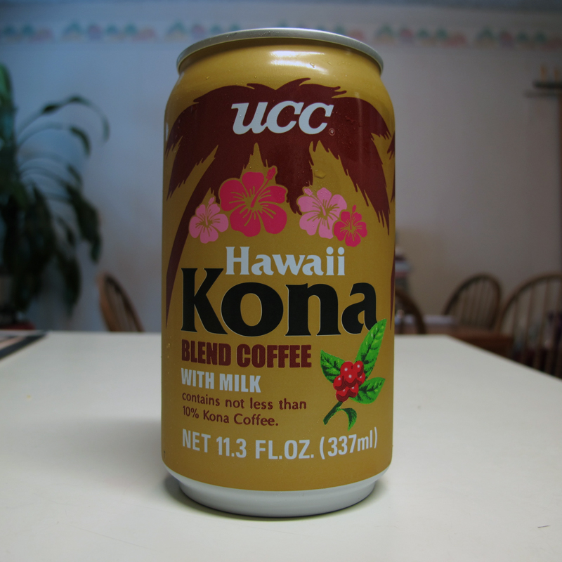 Tagline: Contains not less than 10% Kona Coffee!