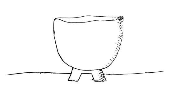 Forme à pied coupé