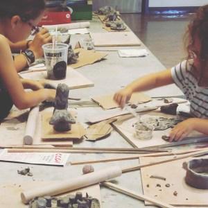 cours de poterie enfant - enseignement