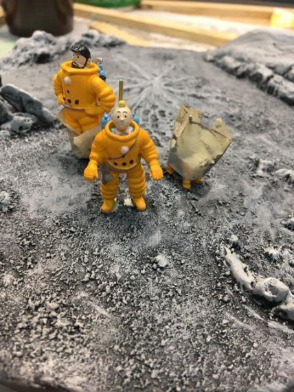 Capitaine Haddock, Tintin et Milou
