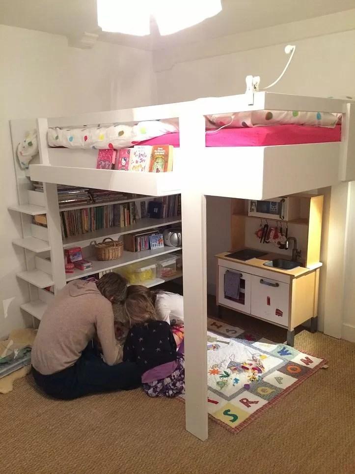 Zelf bouwen Tweepersoons hoogslaper Ana door Joanna