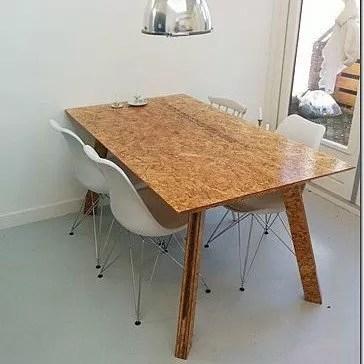 Zelf je eigen tafel maken Bouwtekening Teruel