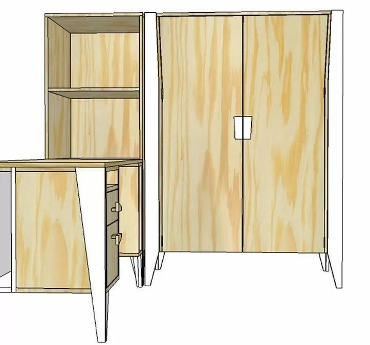 Zelf een kast  dressoir bouwen  Hoe pak je dat aan Tips
