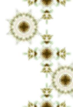 十字と雪華模様の壁紙(4パターン)