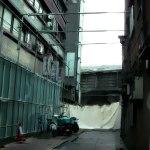袋小路の路地裏 差分:日中/夕方/夜