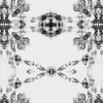 鎖のような幾何学模様(4パターン)