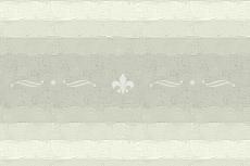 百合の紋章が入ったファブリック風のノベルティストライプ(4パターン)