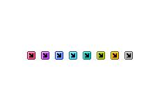 コミカルな矢印(4パターン)