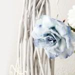 枯れ枝のオブジェと薔薇のインテリア(3パターン)