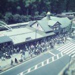 【高解像度】休日の原宿駅