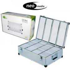 NEO 1000 CD DVD ALUMINIUM STORAGE DJ CASE