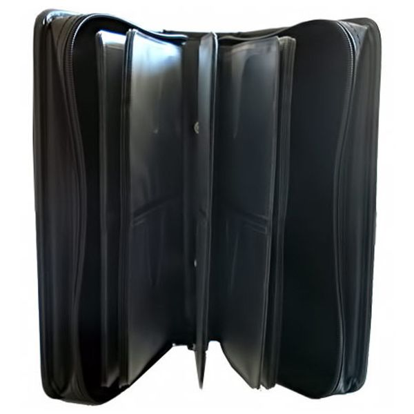 NEO LEATHER 120 CD DVD CARRY CASE