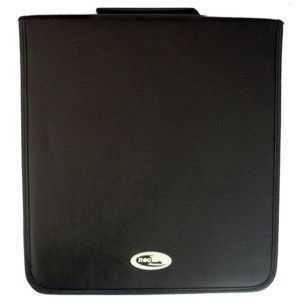 400 DISC STORAGE CD DVD LEATHER BY NEO MEDIA