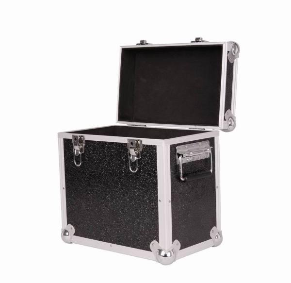 """neo media lp 50 12"""" black storage aluminium case"""