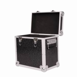 "neo media lp 50 12"" black storage aluminium case"