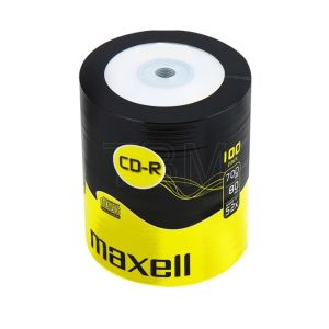 MAXELL CD-R LOGO 100 PACK