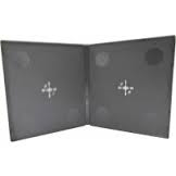 DOUBLE 10MM HALF SIZE DVD CASE NEO MEDIA