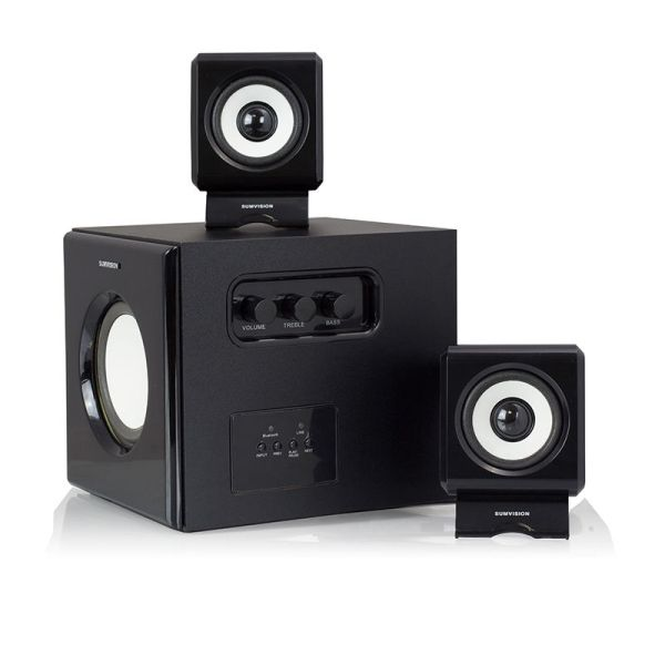 Sumvision N-Cube Pro-B 2.1 Stereo System - Bluetooth Wireless Speakers -0