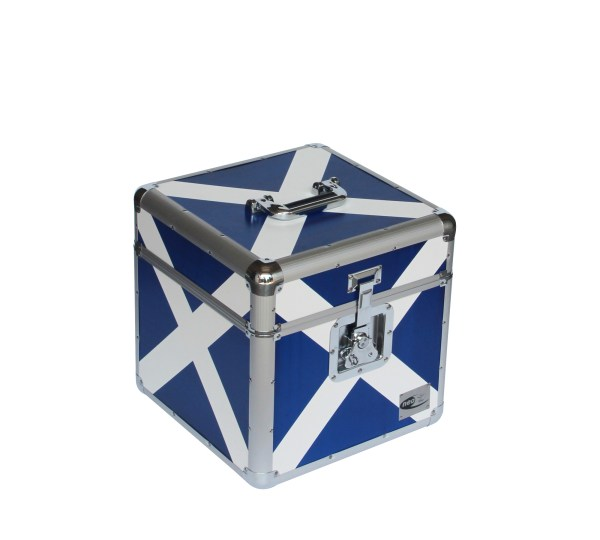 "Scotland Flag LP 100 12"" STORAGE CASE"
